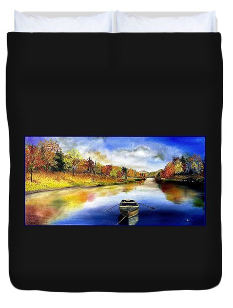 The Hiding Place Duvet Cover