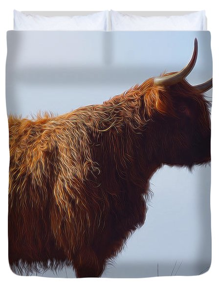 The Highland Cow Duvet Cover