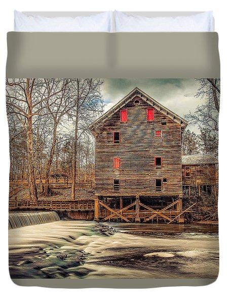 The Kymulga Mill Duvet Cover by Phillip Burrow
