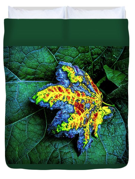 The Leaf Duvet Cover