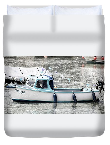 The Little Boat Duvet Cover