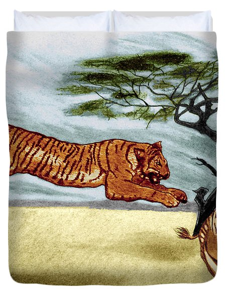 The Lunge Duvet Cover