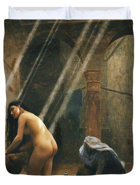 The Moorish Bath Duvet Cover
