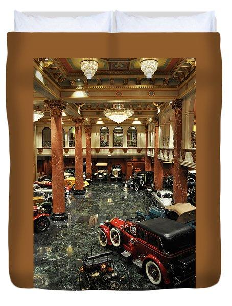 Grand Salon At The Nethercutt Duvet Cover