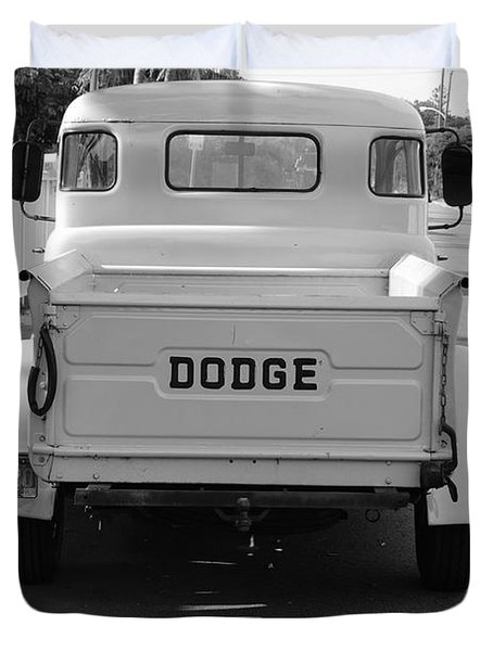 The Old Dodge  Duvet Cover by Rob Hans