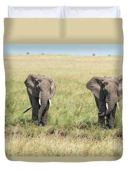 The Pair Duvet Cover