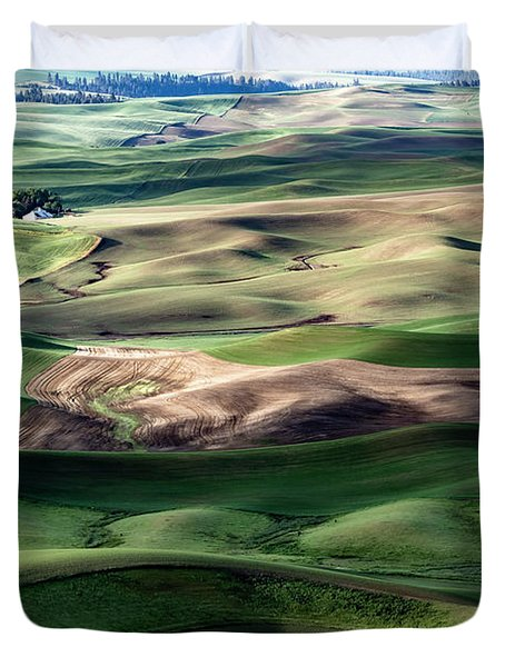 The Palouse Duvet Cover