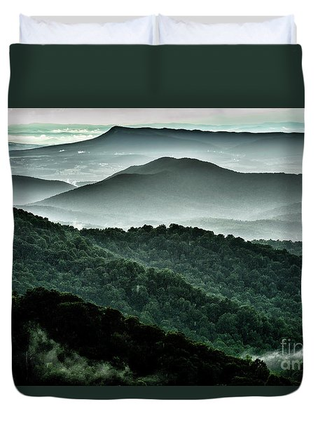 The Point Overlook Duvet Cover