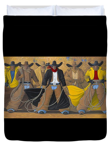 The Posse Duvet Cover