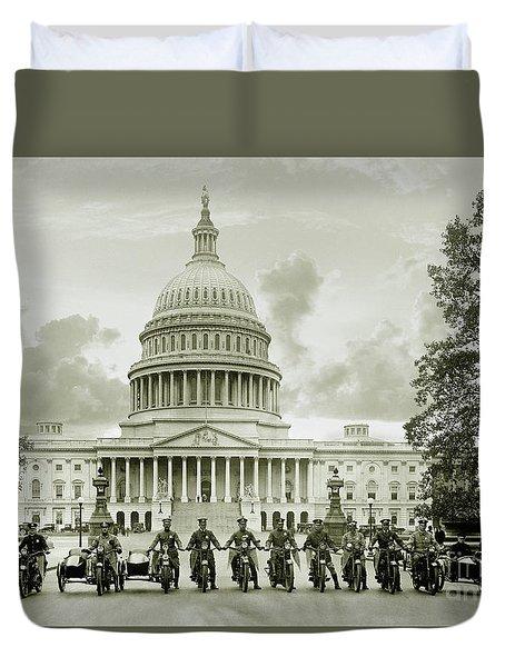 The Presidents Club Duvet Cover