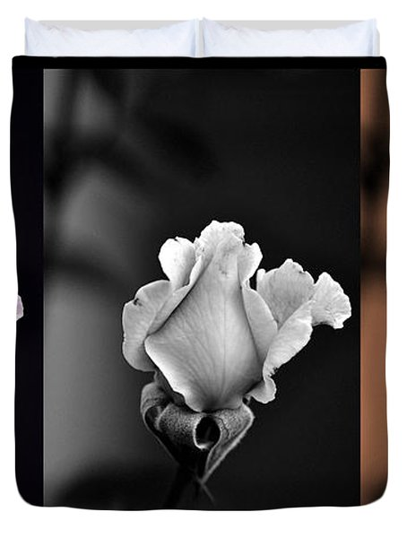 The Rose Duvet Cover by Clayton Bruster