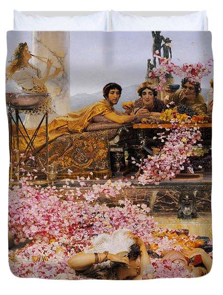 The Roses Of Heliogabalus Duvet Cover