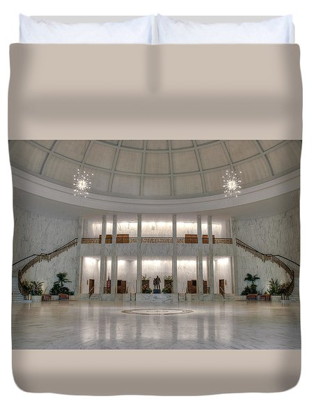 Duvet Cover featuring the photograph The Rotunda by Mark Dodd