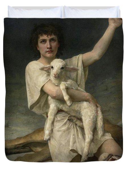 The Shepherd David Triumphant Duvet Cover