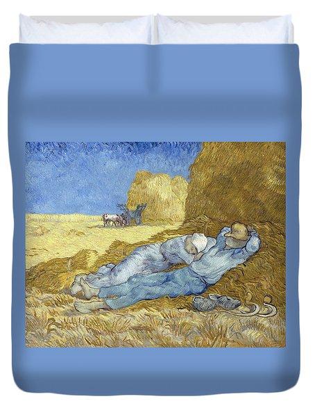 The Siesta After Millet Duvet Cover