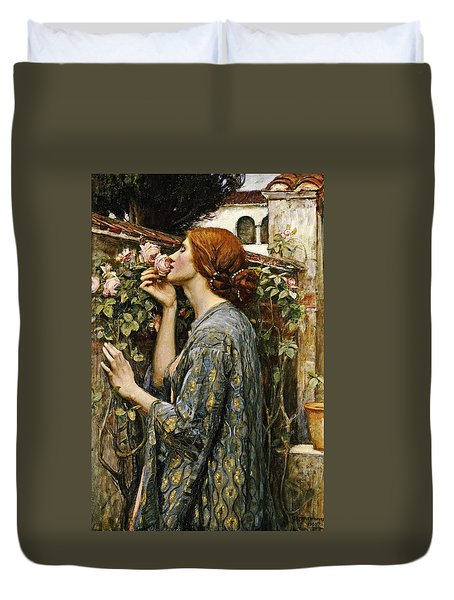 The Soul Of The Rose Duvet Cover