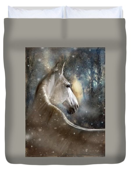 The Spirit Of Winter Duvet Cover