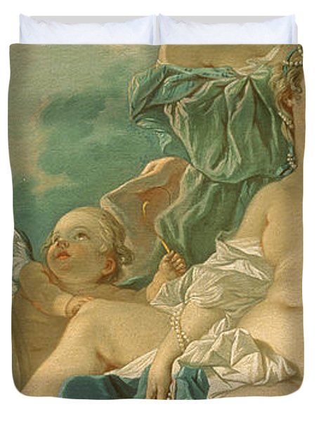 The Toilet Of Venus Duvet Cover