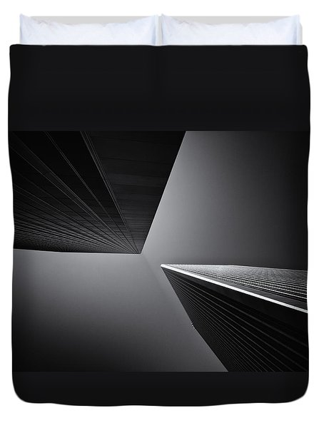 The Tricorn Towers Duvet Cover