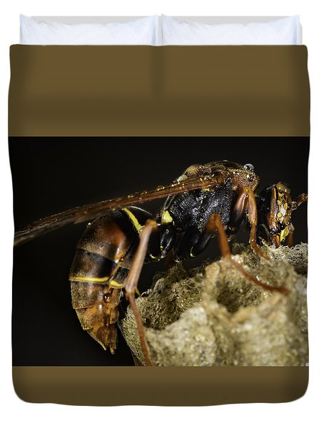 The Wasp Duvet Cover