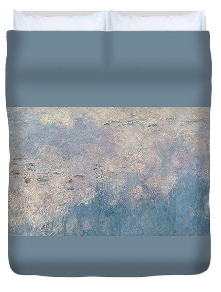 The Waterlilies  The Clouds Duvet Cover