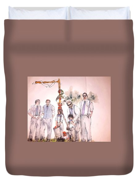 The Wedding Album  Duvet Cover