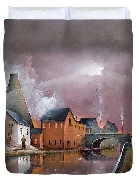 The Wordsley Cone Duvet Cover