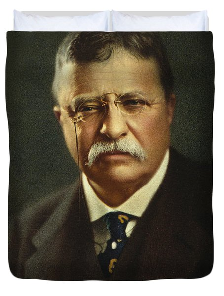 Theodore Roosevelt - President Of The United States Duvet Cover