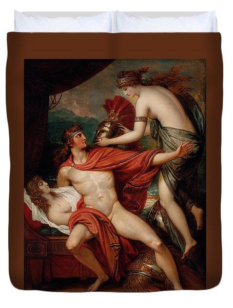 Thetis Bringing The Armor To Achilles Duvet Cover