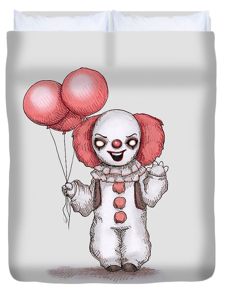 They All Float Duvet Cover