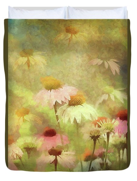 Thoughts Of Flowers Duvet Cover