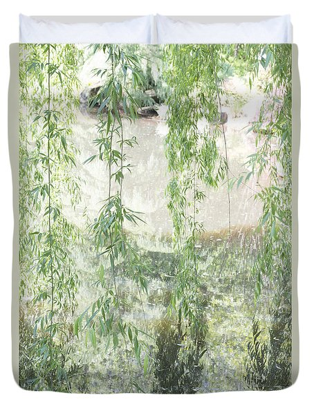 Through The Willows Duvet Cover