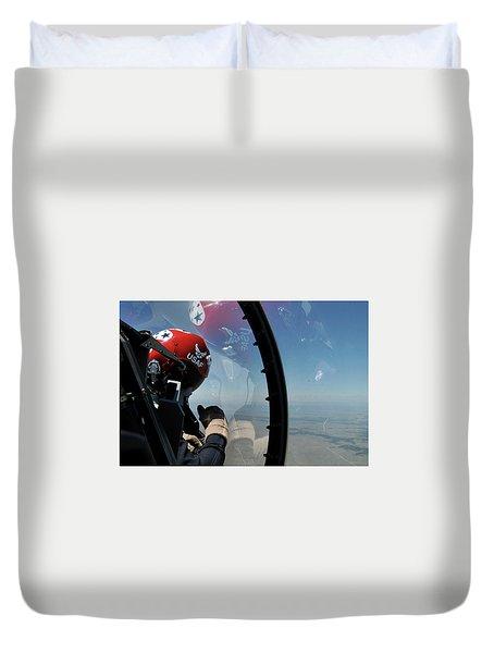 Thunderbirds Photo Duvet Cover
