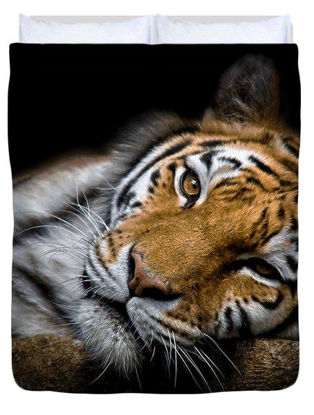 Tiger 2  Duvet Cover