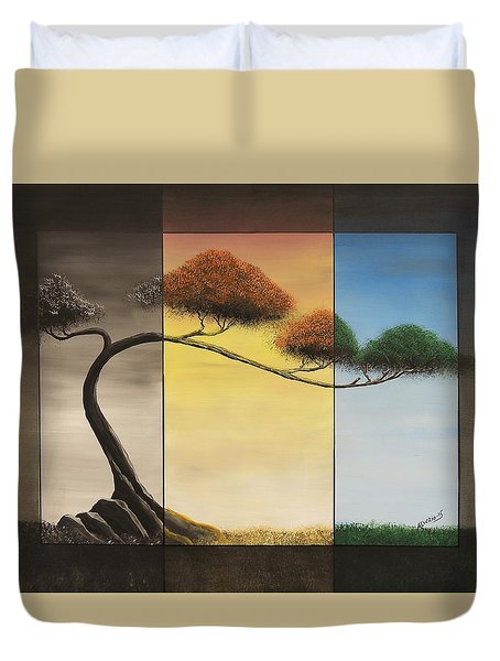 Time After Time Duvet Cover by Edwin Alverio