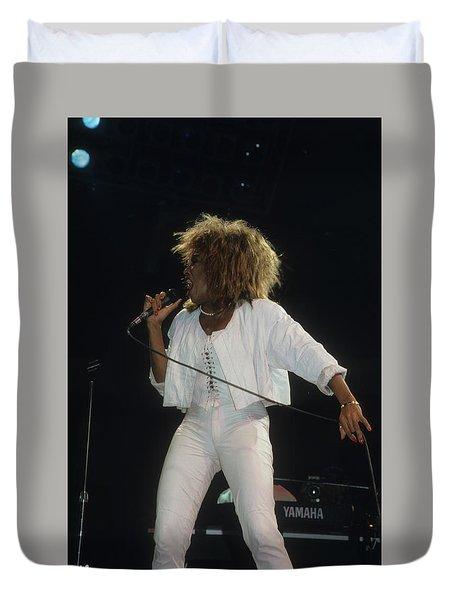 Tina Turner Duvet Cover