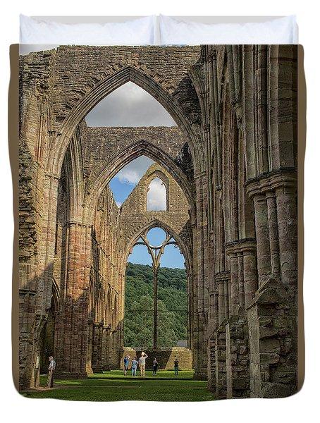 Tintern Abbey Duvet Cover