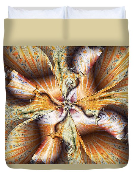 Toffee Pull Duvet Cover