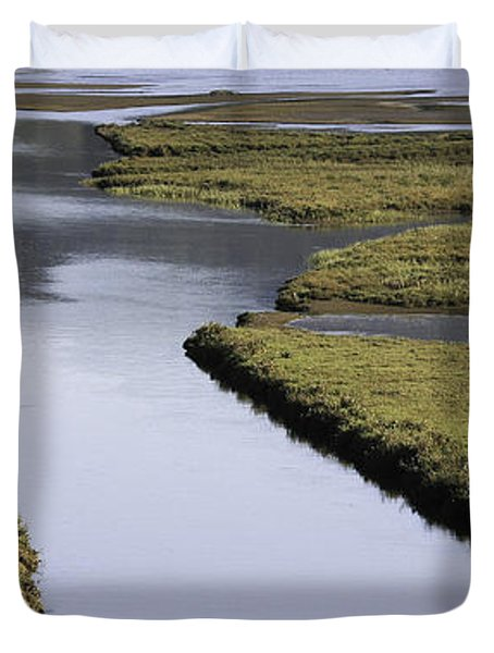 Tomales Marsh Duvet Cover