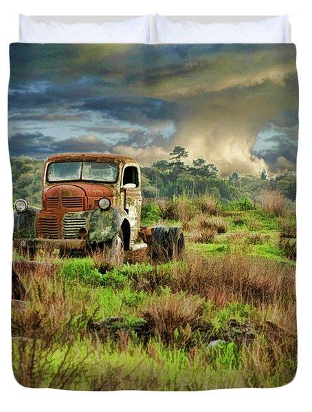 Tornado Truck Duvet Cover
