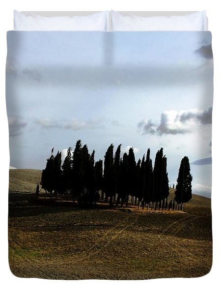 Duvet Cover featuring the photograph Toscana by Pat Purdy