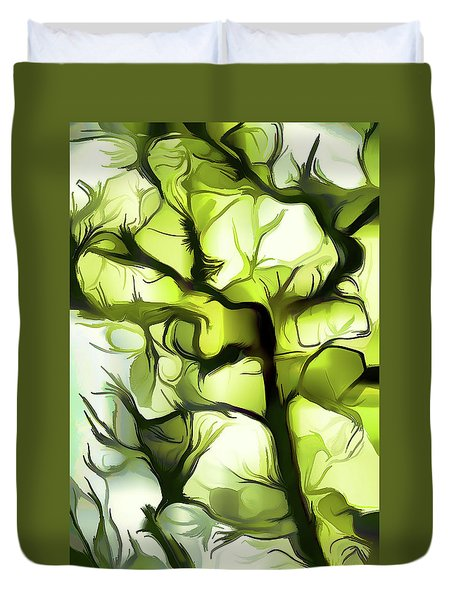 Towards The Sun Duvet Cover
