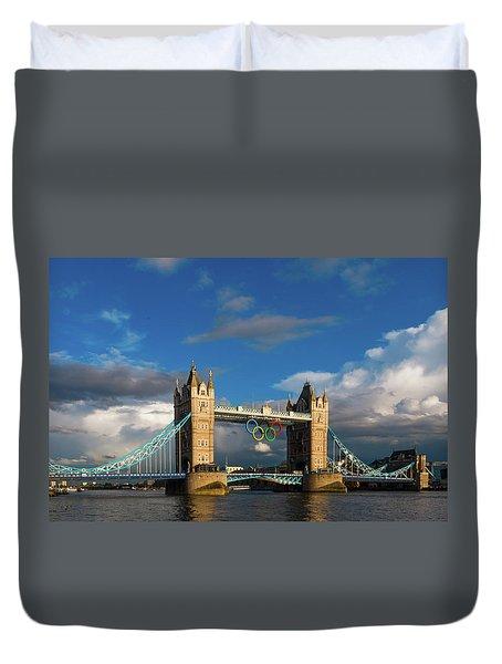 Duvet Cover featuring the photograph Tower Bridge by Stewart Marsden