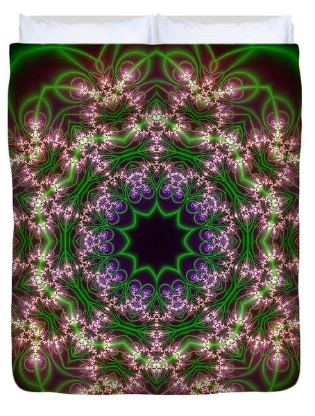 Transition Flower 10 Beats Duvet Cover