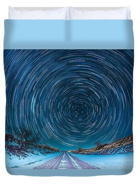 Travel North  Duvet Cover