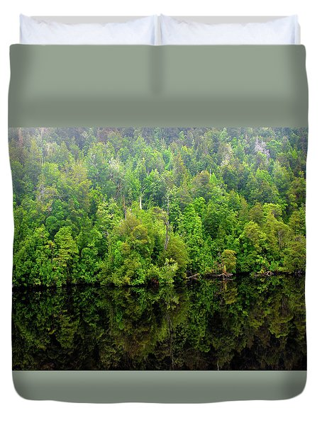 Tree Breath Duvet Cover