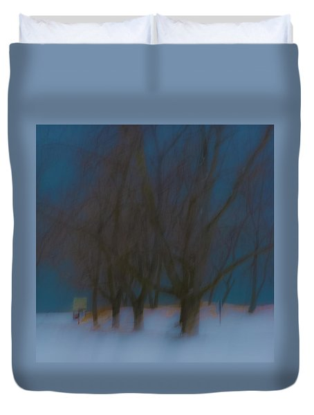 Tree Dreams Duvet Cover