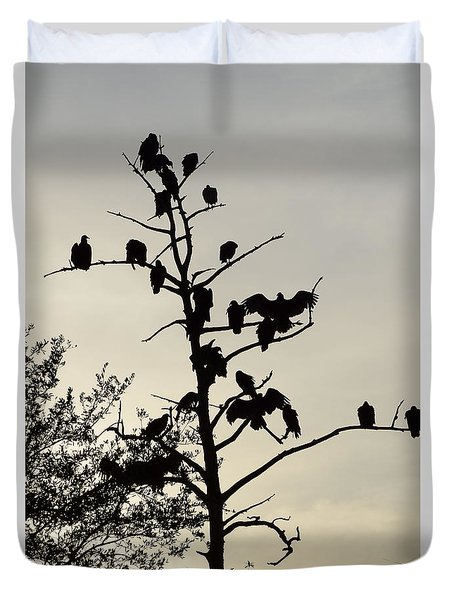 Tree For The Hungry Duvet Cover