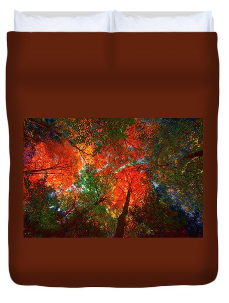 Tree Tops Duvet Cover
