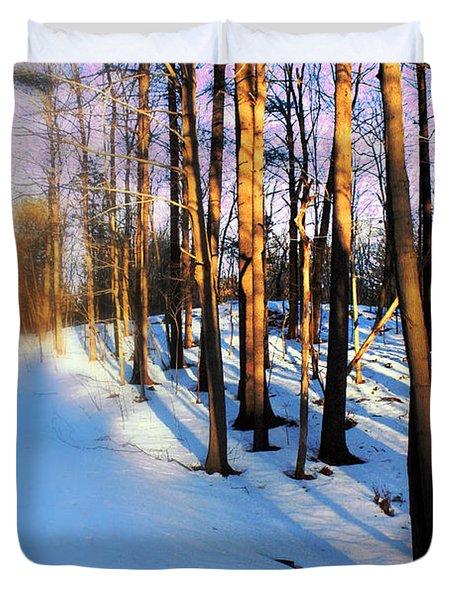 Trees Photography Duvet Cover by Mark Ashkenazi
